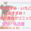 【安い】愛知・名古屋で毛穴の黒ずみやいちご鼻におすすめ!美容クリニック・皮膚科【