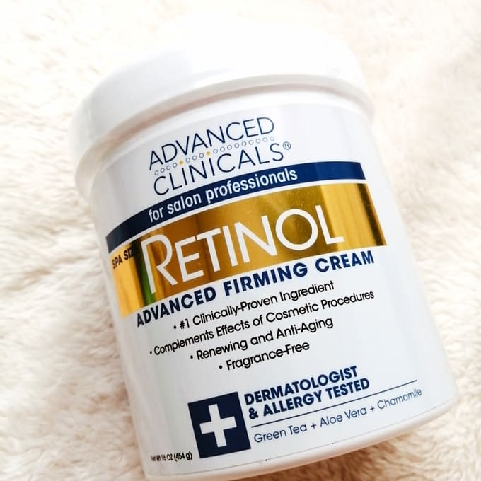 Advanced Clinicals レチノールクリーム