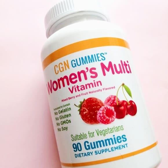 California Gold Nutrition, 女性用マルチビタミングミ1